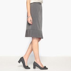 Stretch Twill Pencil Skirt ANNE WEYBURN