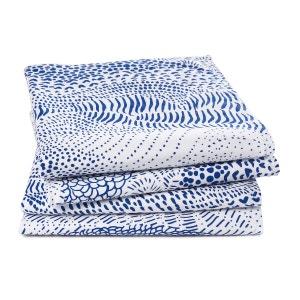 Lote de 4 servilletas de algodón lavado, Sealand