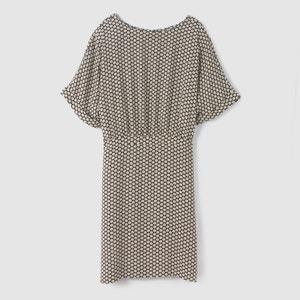 Zwiewna wzorzysta sukienka JUNLY DRESS B.YOUNG