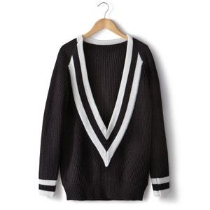 Пуловер теннисный, 100% акрила SOFT GREY