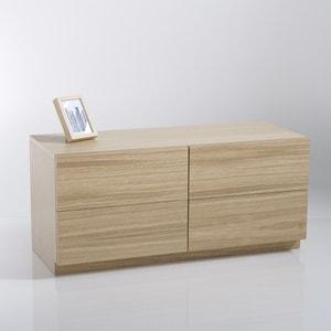 Módulo estante, 2 portas, 2 gavetas Biface La Redoute Interieurs