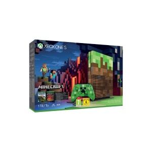 Console MICROSOFT Xbox One S 1To Minecra MICROSOFT