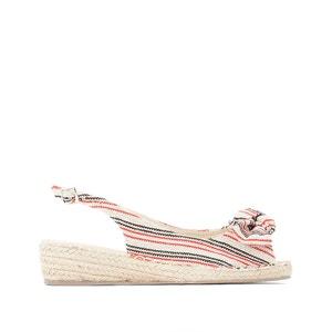 Sandalias de tela
