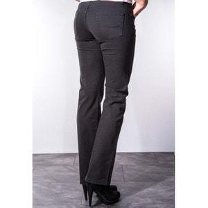 Jeans coupe droite taille haute stretch noir marilou RICA LEWIS