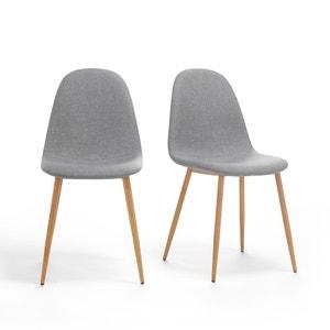 Set van 2 opgevulde schelpvormige stoelen, Nordie