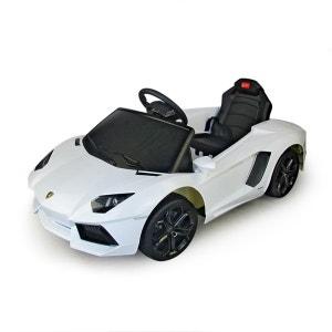 Voiture électrique enfants avec télécommande parentale Blanc -  Lamborghini AUTOMOBILI LAMBORGHINI