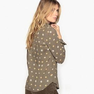 Bedrukte blouse in zuiver katoen ANNE WEYBURN