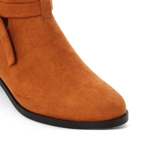 Boots cut out détail nœud R édition