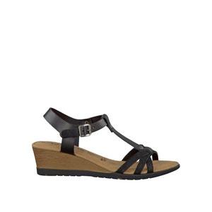 Sandalias de piel 28218-28 TAMARIS