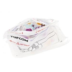 TOPCOM - Stérilisateur micro-ondes - Pour 2 biberons, tétines,... - En 4 minutes ! TOPCOM