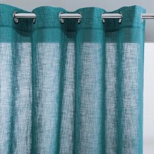Glasgordijn met linnen effect met oogjes, NYONG La Redoute Interieurs
