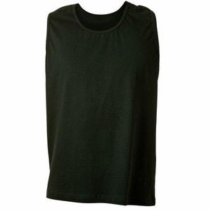 Tee-shirt sans manche noir ADAMO