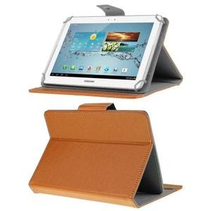 Housse universelle tablette 10 pouces ajustable 10.1'' support Orange Yonis