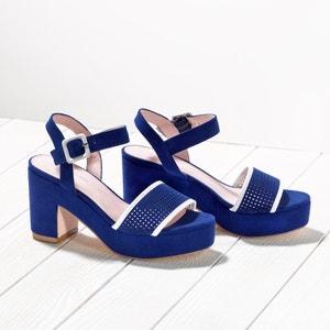 Sandálias com plataforma, presilha ajurada MADEMOISELLE R