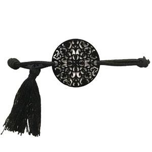 Bracelet élastique fantaisie pour femme noir Modele 6 OUTWELL
