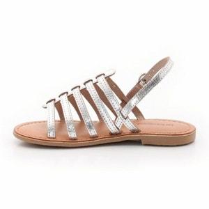 Sandalias de piel con múltiples correas, Mangue LES TROPEZIENNES PAR M.BELARBI