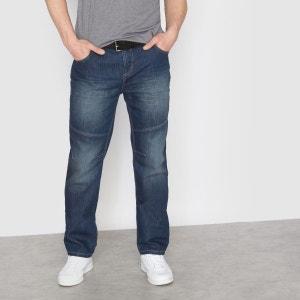 Jean élastiqué coupe droite 5 poches CASTALUNA FOR MEN