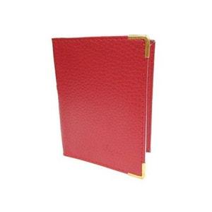Petit porte carte en croûte de cuir CHAUSSMARO