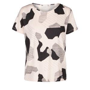 Tee-shirt imprimé camouflage, manches courtes NUMPH