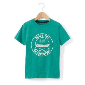 T-shirt imprimé 3-12 ans abcd'R
