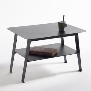 Mesa baja de acero con balda, Hiba