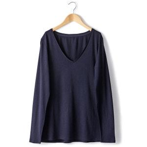 T-Shirt manches longues coton/modal R essentiel