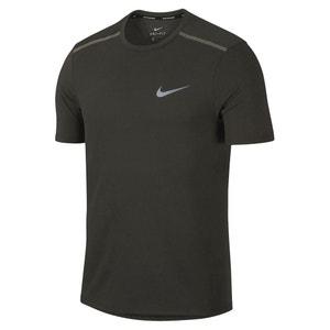 Running T-shirt in ademende stof met ronde hals NIKE