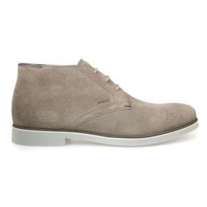 Boots cuir à lacets U Danio B GEOX