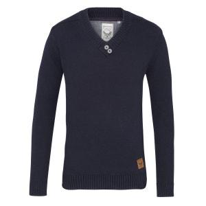 Oznik Sweatshirt À Col En V 100% Coton BRAVE SOUL