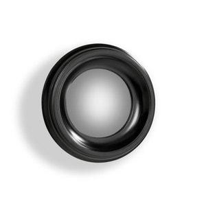 Espelho convexo Habel com moldura preta, diâmetro 40 cm AM.PM.