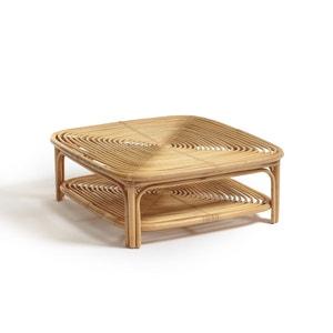 Mesa baja de ratán Calamus