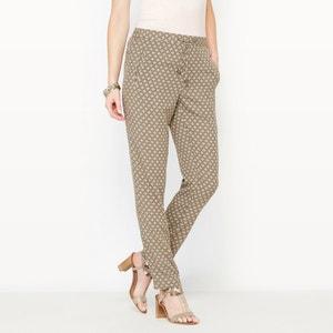 DrapedPrinted Trousers ANNE WEYBURN