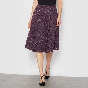 Printed Box Pleat Skirt ANNE WEYBURN