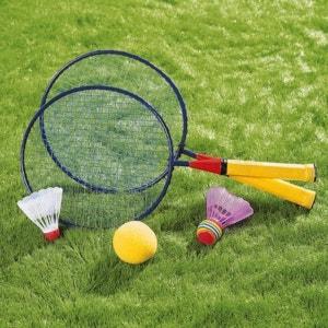 HUDORA Kit de mini-badminton sport enfant HUDORA