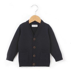 Strickjacke, Bio-Baumwolle, 1 Monat - 3 Jahre La Redoute Collections