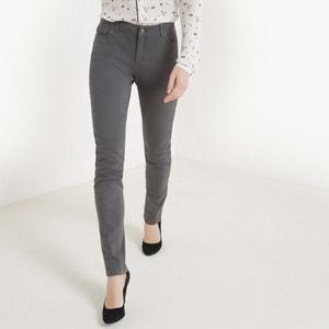 Slim-Fit-Hose in Five-Pocket-Form, Baumwoll-Stretch R essentiel