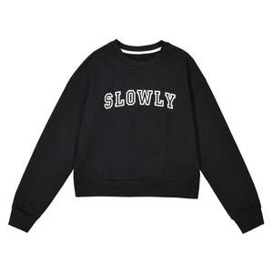 Printed Sweatshirt La Redoute Collections