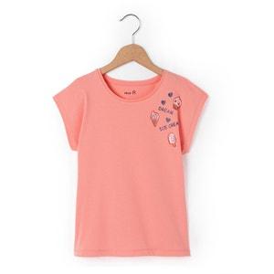 Camiseta sin mangas con emblemas brillantes 3-12 años abcd'R