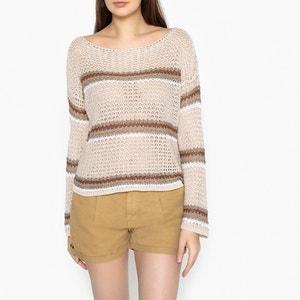 Gestreifter Pullover mit Ajour-Muster LIU JO