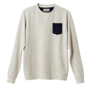Sweatshirt with Breast Pocket PETROL INDUSTRIES