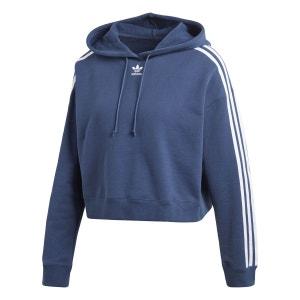 Sweat-shirt à capuche Cropped adidas Originals