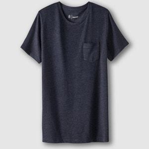 T-shirt com gola redonda 100% algodão R essentiel