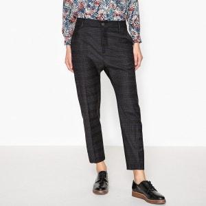 Pantalon slim en flanelle PAULA TRUE NYC