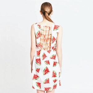 Watermelon Print Dress MIGLE+ME