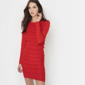 Long-Sleeved Dress L'herbe Rouge x La Redoute