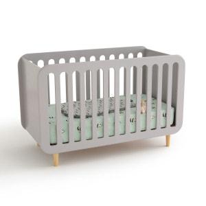 lit bebe gris la redoute. Black Bedroom Furniture Sets. Home Design Ideas