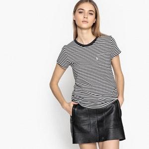 Striped Printed Crew Neck T-Shirt LEVI'S