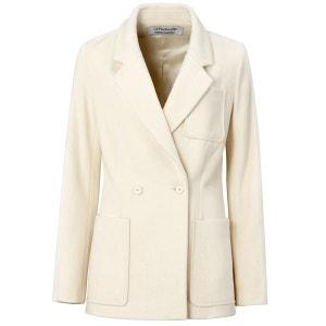 Double-Breasted Wool Jacket ETIENNE DEROEUX POUR LA REDOUTE