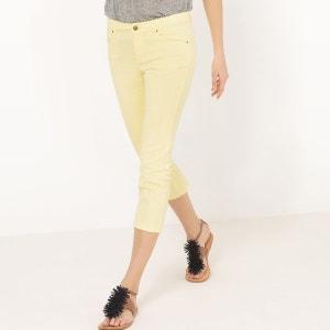 Pantacourt 5 poches, coton stretch R essentiel