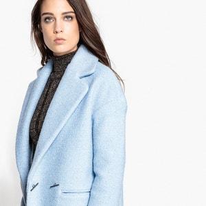 Abrigo de lana de rizo MADEMOISELLE R